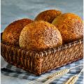 Susamlı Küçük Ekmek 4 Adet