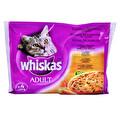 Whiskas Ördek Sebze 4x100 g Kedi Maması