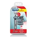 Gillette Mach3 Turbo Milli Takım Özel Paketi Tıraş Makinesi + 4'lü Tıraş Bıçağı
