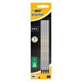 Bıc Eco Black Kurşun Kalem 4'Lü