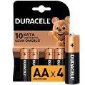 Duracell Alkalin AA Piller 4'lü Paket