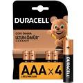 Duracell Alkalin AAA Piller 4'lü Paket