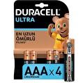 Duracell Turbo Max Alkalin AAA Piller 4'lü Paket