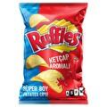 Ruffles Ketçap Aroma Çeşnili Patates Cipsi Süper Boy 115 g