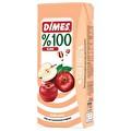 Dimes Elma Nektarı 200 ml Tetra