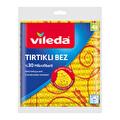 Vileda Tırtıklı 4'lü %30 Mikrofiber Temizlik Bezi