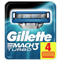 Gillette Mach3 Turbo Yedek Tıraş Bıçağı 4'lü