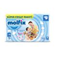 Molfix Süper Fırsat Paket 4 Beden 76'lı Maxi