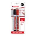 Edding Beyaz Tahta Kalemi 2'li Kırmızı&Siyah