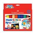 F.C 10 Renk Mu lti Crayon Pastel Boya Bl
