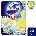 Domestos Wc Blok 5'li güç Limon Ferahlığı 55 g