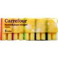 Carrefour Renkli Oluklu Bulaşık Süngeri 5'li