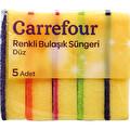 Carrefour Bulaşık Süngeri 5'li Renkli