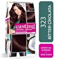 L'oreal Paris Casting Crème gloss Amonyaksız & Besleyici Saç Boyası - 323 - Bitter Çikolata