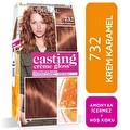L'oreal Paris Casting Crème gloss Amonyaksız & Besleyici Saç Boyası - 732 - Krem Karamel