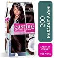 L'oreal Paris Casting Crème gloss Amonyaksız & Besleyici Saç Boyası - 200 - Karadut Siyahı