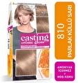 L'oreal Paris Casting Crème gloss Amonyaksız & Besleyici Saç Boyası - 810 - Parlak Küllü Sarı