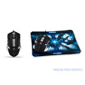 Everest SgM-X9 Usb Siyah gaming Mouse (Mouse Pad Hediyeli)