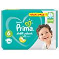 Prima Bebek Bezi Aktif Bebek 6 Beden Ekstra Large Fırsat Paketi 40 Adet