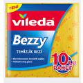 Vileda Bezzy 10'lu Sarı Temizlik Bezi