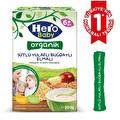 Hero Baby Organik Sütlü Buğdaylı Yulaflı Elmalı Kaşık Maması