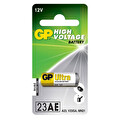 GP 23A 12V Yüksek Voltaj Spesifik Tekli Pil