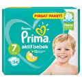 Prima Bebek Bezi Aktif Bebek 7 Beden XX Large Fırsat Paketi 34 Adet