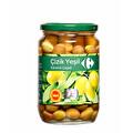 Carrefour Edremit Çizik Yeşil Zeytin 400 g