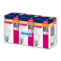 Osram 8,5 W E27 806 Lümen Beyaz Işık Led Ampul 3'lü Paket