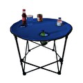 Çantalı Kamp Masası Mavi