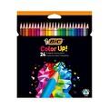 BİC Color Up Üçgen Kuru Boya 24'lü