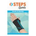 Steps Sports Elastik El Bilekliği Mavi XL