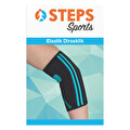 Steps Sports Elastik Dirseklik Mavi Medium