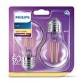 Philips LED Classic 60W A60 E27 2700K 2'li