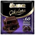 Ülker Kare Çikolata Karadut & Bitter 60 g