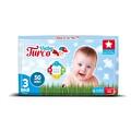 Baby Turco 3 Midi Bebek Bezi 50 Adet