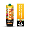 Cappy Destek 1 lt Karışık Meyveli ve Sebzeli İçecek
