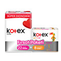 Kotex Ultra Süper Ekonomik Uzun 22'li + Active Normal 8'li