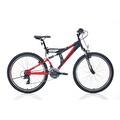 "26"" Bianchi Puma Dağ Bisikleti Mat Siyah-Kırmızı-Beyaz"