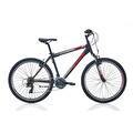 "26"" Bianchi Trunk Dağ Bisikleti Mat Siyah-Beyaz-Kırmızı"
