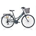 """28"""" Bianchi Garden Şehir Bisikleti Mat Siyah-Turkuaz"""