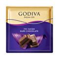 Godiva Kare Çikolata %72 Kakaolu Bittter 60 g