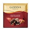 Godiva Kare Çikolata Badem Bitter 60 g