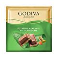 Godiva Kare Antep Fıstıklı Karamelli Çikolata 60 g