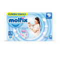 Molfix Eko Paket 3 Beden 34'lü Midi