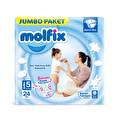 Molfix Eko Paket 5 Beden 24'lü Junior