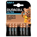 Duracell Ultra AAA Pil 6'lı