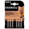 Duracell Basic AAA 6'lı Pil