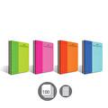 Faber-Castell Pp Kapak Bicolor Spiralli 100 Yaprak Çizgli