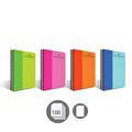 Faber-Castell Pp Kapak Bicolor Spiralli 100 Yaprak Düz